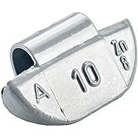 100x Schlaggewichte Alufelgen Typ63 10g Silber | Schlaggewichte Alu Auswuchtgewichte Alufelgen | Wuchtgewichte Alufelgen
