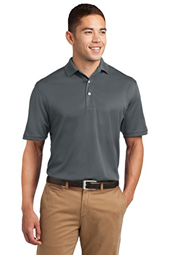 Big And Tall Mesh Polo Shirt (Sport-Tek Men's Tall Dri Mesh Polo XLT Steel)