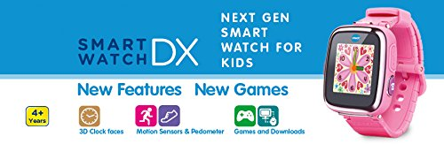 VTech 171613 Kidizoom DX Smart Watch – Pink