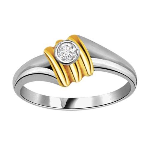 SURATDIAMOND Surat Diamond 18K Yellow Gold Diamond Ring