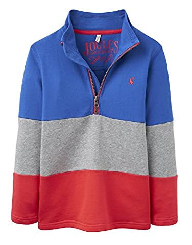 JOULES New Winter 2016 Junior Boys Bold Blue DALE Sweatshirt