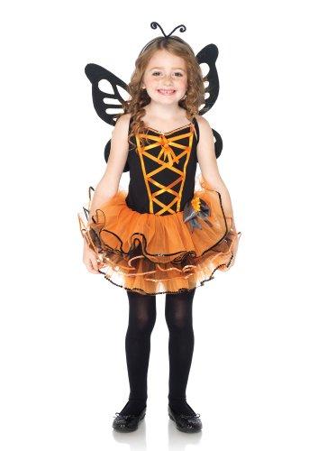 Leg Avenue - Disfraz de mariposa infantil, talla M (C4815402040)