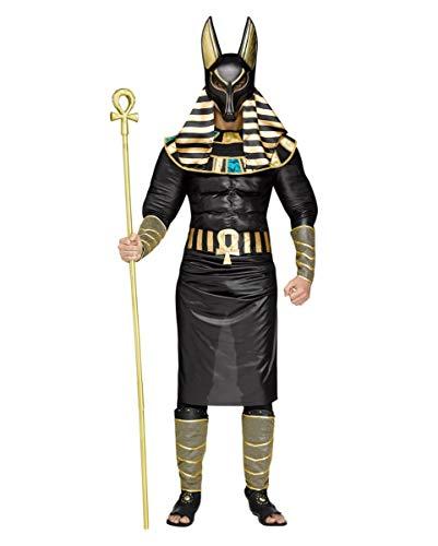 Anubis Kostüm - Anubis Herrenkostüm für Fasching & Halloween One Size