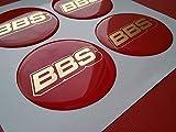 BBS ★4 Stück★ 65mm Aufkleber Emblem für Felgen Nabendeckel Radkappen