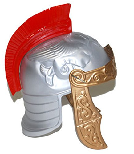 m Ritter Helm Borsten Warrior Römer Kostüm Ritterrüstung, Bronze (Viktorianischen Diener Kostüme)