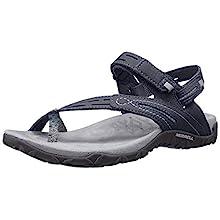 Merrell Terran Convert II, Women Sandals, Multicolor (Black), 5 UK (38 EU)