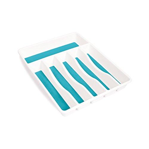Newell Rubbermaid Rubbermaid fg1j2509bla Interlock Schublade Organizer Papierkorb, weiß, - Rubbermaid Schublade Organizer