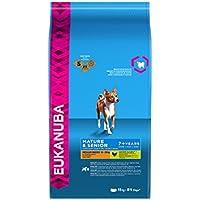 Eukanuba Premium Hundefutter für ältere Hunde mittelgroßer Rassen ab 7 Jahre, Trockenfutter mit Huhn (1x15 kg)
