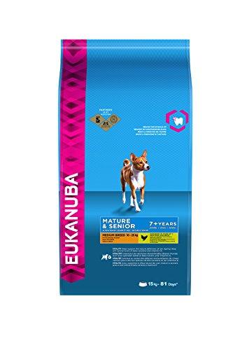 Eukanuba Senior Medium Breed Trockenfutter (für ältere Hunde mittlerer Hunderassen ab 7...