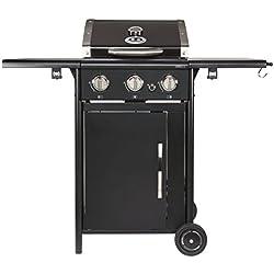 Outdoorchef CAIRNS 3G schwarz BBQ Gasgrill Grillstation, 3Brenner, 18.131.21