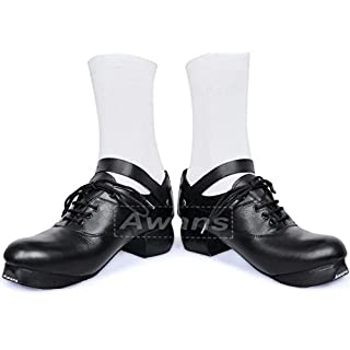 Awans Great Value Irish Dancing Heavy Shoes, Loud Flexible Soft Sole Shoes. Size 7