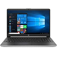 HP Laptop 15 DY 1731 MS 10th Generation Intel® Core™ i3-1005G1 Processors 8GB RAM 128GB SSD Windows 10 15.6 Inch HD 1366-by-768 Touchscreen, English Keyboard, Silver Color
