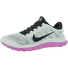 Nike - Zapatillas de running para mujer summit white anthracite red volt