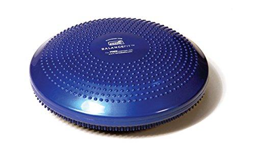 SISSEL 162031, Disco Multifunzione per Allenamento Unisex - Adulto, Blu, 34 x 34 x 9 cm