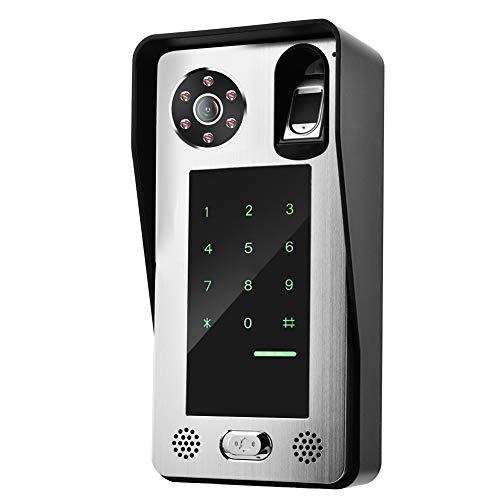 10 Zoll Wired Video Türklingel Fernbedienung Türzugang Kamera Unterstützung remote APP Entsperren, Fotografieren Aufnehmen(EU) -