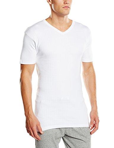 Abanderado TERMAL - Camiseta térmica para hombre, color blanco, talla 56/XL