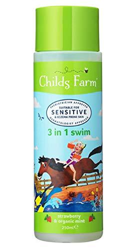 Childs Farm 3 in 1 swim strawberry & organic mint 250ml