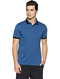 Arrow New York Men's Solid Regular Fit T-Shirt