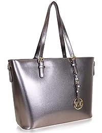 6777b5f25f02a Vanessa   Melissa Damen Handtasche Kunstleder Shopper Shopping Bag