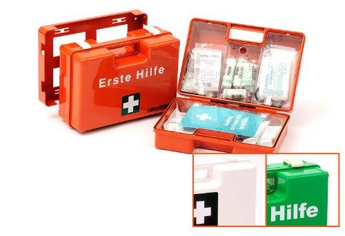 Erste Hilfe Koffer ÖNORM Z1020, Typ 2 gefüllt, DETEKTIERBAR