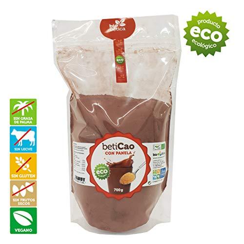 BetiCao con Panela Bolsa Cacao Soluble Instantáneo Ecológico 700 gr 100{075bb838e591e227836f9e81462893a28054f0a1c8ab8f1c8d0f30961621e11e} BIO