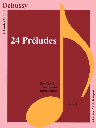 Partition - Debussy - 24 Prludes - pour piano