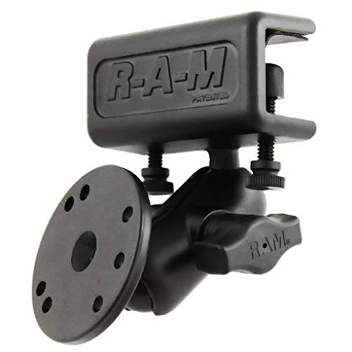 Ram Mounts RAM Glare Shield CLAMP System Round, RAM-B-177-202 (Round) Ram-glare Shield Clamp