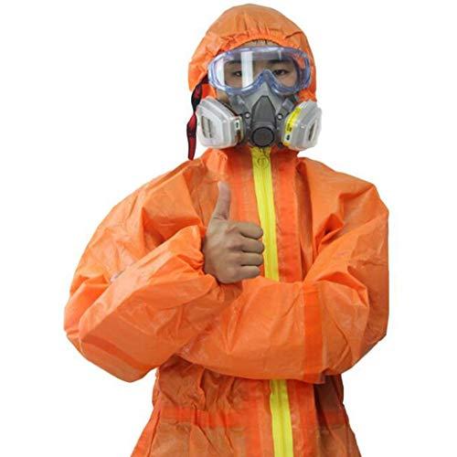 gz Indumenti protettivi chimici per la protezione e la sicurezza complessivi dedicati, vernice antiacforosa, acido isolato e tuta protettiva alcalina,** L
