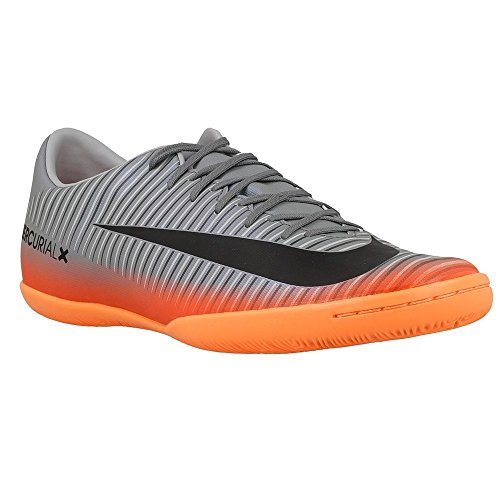 Nike - Mercurialx Victory VI CR7 IC - 852526001 - Color: Gris-Naranja - Size: 45.5