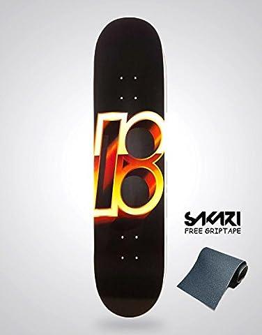 Monopatín skate skateboard PLAN B TEAM GOLD 8,5