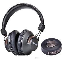 Avantree HT3189 Auriculares Inalambricos TV con Transmisor Bluetooth, Para PC Video juegos, Aux 3.5