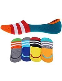 Panegy – 5 paires de Chaussettes Invisible de sport – Socquettes Homme – Chaussettes Basses Homme en Coton FR 39-43 – souple et respiration – couleurs disponibles