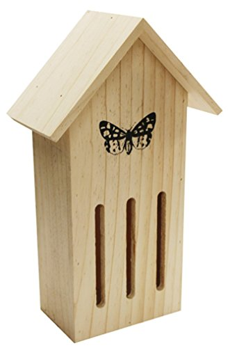 Kingfisher Wooden Butterfly Hotel Insect House Viewer Garden Nest HOTEL7 Test