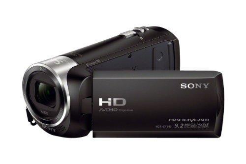 Sony Camcorder - HDR CX240E (Black)