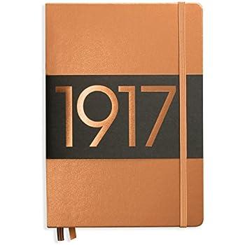 CARNET LEUCHTTURM1917 CUIVRE - édition limitée Metallic - MEDIUM (A5) COUVERTURE RIGIDE, 249 PAGES NUMÉROTÉES, POINTILLÉS