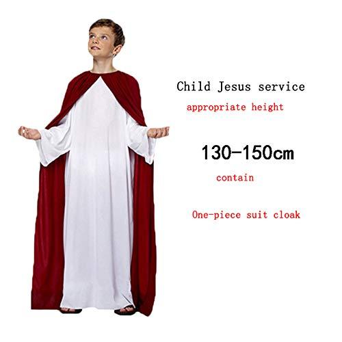 oween Thanksgiving Ostern-Jahrestagung Erwachsene Kinder Gott Jesus Christus Jungfrau Maria Performance-Kostüm ()