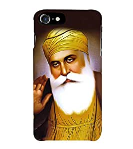 Guru Nanak Dev Ji 3D Hard Polycarbonate Designer Back Case Cover for Apple iPhone 7 Plus