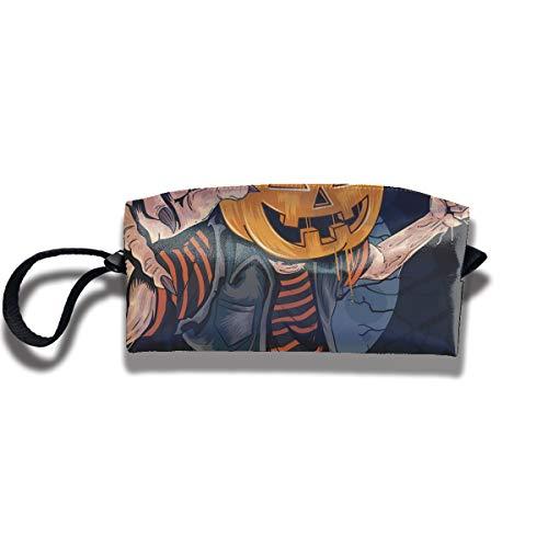 Doinh Pumpkin Zombie Halloween Killer Artwork Pequeño