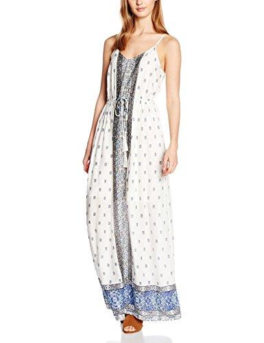 Vero Moda Vmlupita Long Dress, Vestito Donna Multicolore (Black Iris AOP:LUPITA COMB)