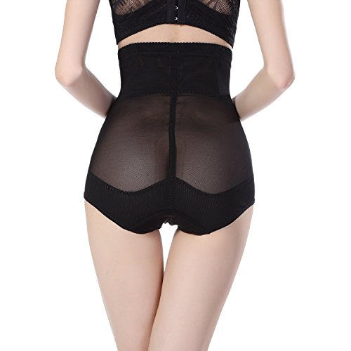 Hot Body Shaper Control Slim Tummy Corset High Waist Postpartum Belly Pants Shapewear Underwear Black