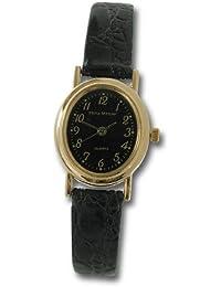 Philip Mercier SML16/B - Reloj de mujer de cuarzo color negro