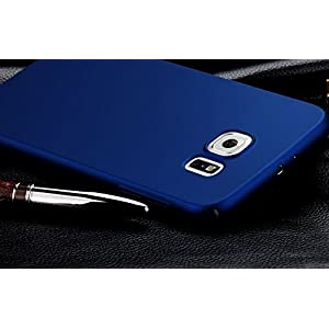 "Wow Imagine All Sides Protection ""360 Degree"" Sleek Rubberised Matte Hard Case Back Cover For Samsung Galaxy S7 - Blue"