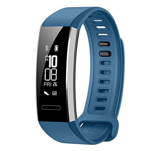 Pulsera Actividad Inteligente Impermeable, Perseguidor Multifuncional Smart Fitness Tracker con GPS para Correr, Ritmo Cardíaco, Sueño, Caloriás, Notificaciones Inteligentes