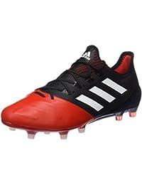 adidas Ace 17.1 Leather Fg, Botas de Fútbol para Hombre, Rot/Schwarz (Core Black/Ftwr White/Red)