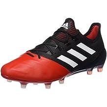 adidas Ace 17.1 Leather FG, Scarpe per Allenamento Calcio Uomo, Verde (Versol/Ftwbla/Negbas), 40 EU