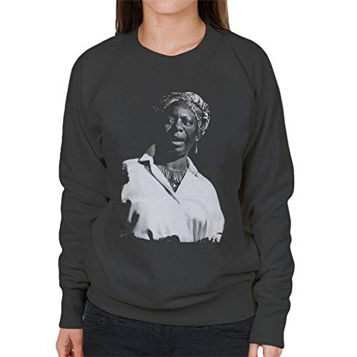 Nina Simone At The Royal Albert Hall 1998 Womens Sweatshirt Anthracite