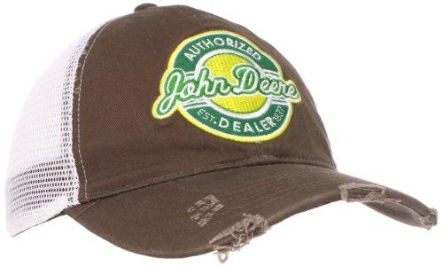 John Deere Retro Patch Distribuidor gorro marrón