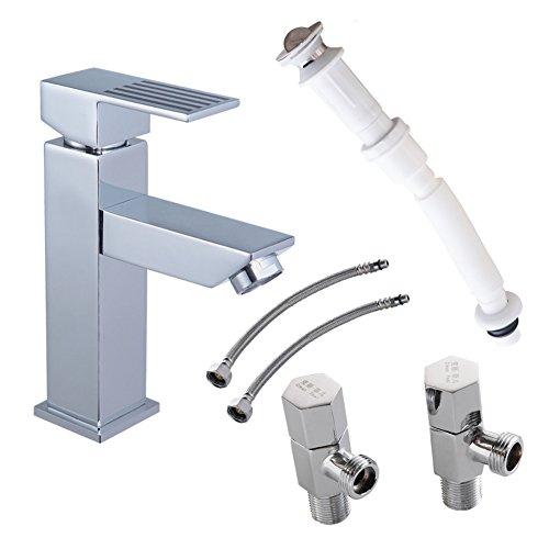 Bagno rame lavabo/ valvole di acqua calda e fredda/ deodorante