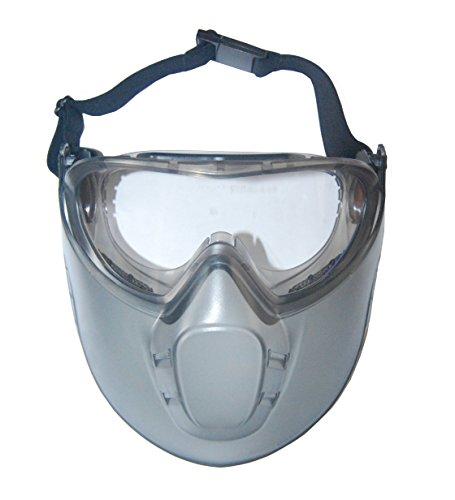 Maske Sicherheit Brille mit Antibeschlag Windschutzscheibe Gesicht STORMLUX LUX OPTICAL 60650...