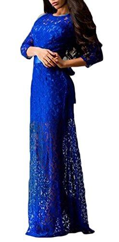 Frauen Jerseykleider Minikleid Etuikleider Partykleider Rundkragen Ärmellos Rückenfrei Aushoshlen Kurz Normallacks Chic Schlank Blau